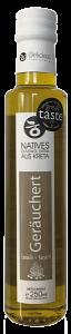Natives Olivenöl extra Geräuchertes